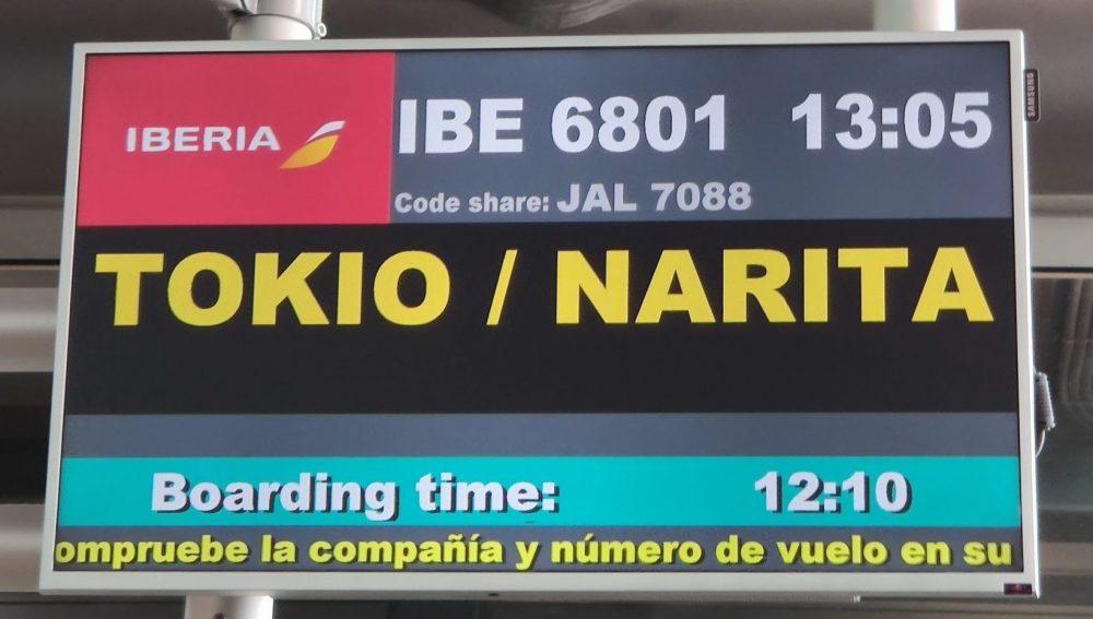 Embarque a Tokio / Narita