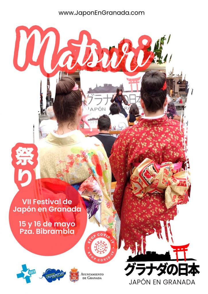 Matsuri Feria japonesa Granada 2021